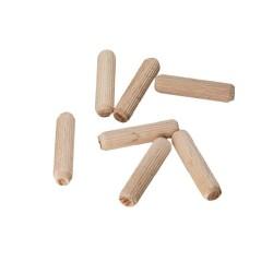 Kołek meblowy drewniany fi 8x35 100szt.