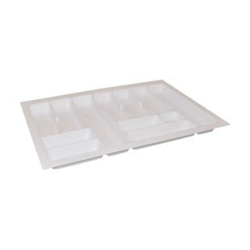 Wkład na sztućce do szafki 80/49 biały COMFORT