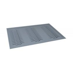 Wkład na talerze do szafki 80/49 metalik