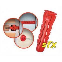 Kołek SFX z wkrętem PZ 8x40/50 100 szt.