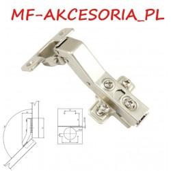 Zawias meblowy kątowy 45° hydrauliczny  Ø 35mm