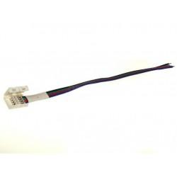 Złączka do taśm LED 10mm RGB na kablu samozaciskowa