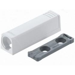 Adapter prosty do TIP-ON krótki biały Blum 956.1201