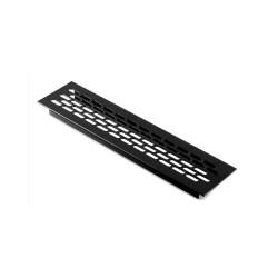 Kratka wentylacyjna 245x60mm lakierowana czarna