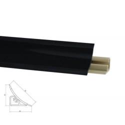 Listwa przyblatowa LB-23 czarna