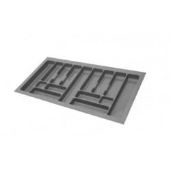 Wkład na sztućce do szuflady 100cm metalik 49cm