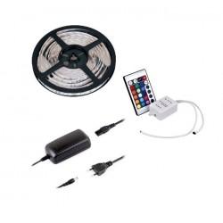 Zestaw IR TAŚMA RGB 30 LED/m 6W/m IP45