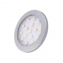 Oprawa LED ORBIT 1,5W 12V biały ciepły aluminium
