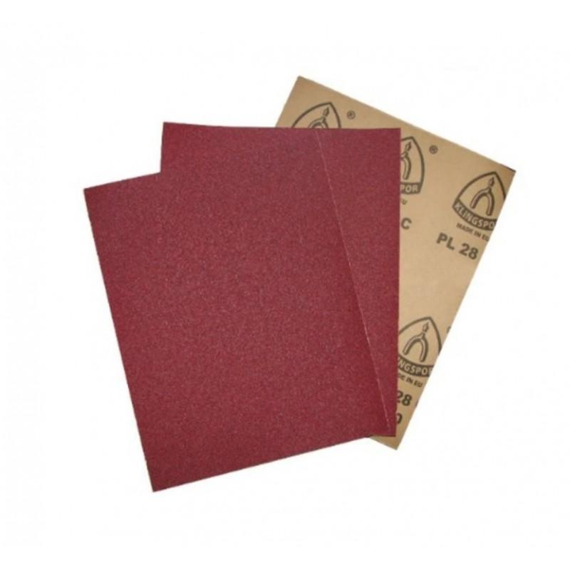 Papier ścierny   arkusz 280x230  granulacja 220
